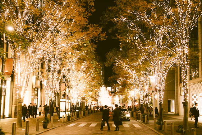 Marunouchi Illumination 2016-17-walking street-Unseen Japan