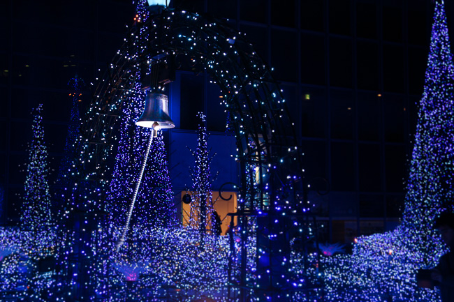 caretta-shiodome-illumination-2016-bell-of-love-unseen-japan