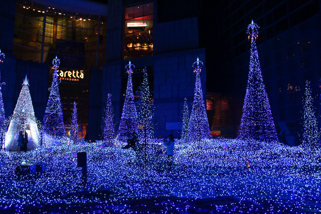 caretta-shiodome-illumination-2016-landscape-unseen-japan